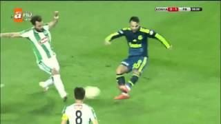 Konyaspor 0-3 Fenerbahce Maci Özeti FULL 20 nisan 2016 TÜRKİYE KUPASI YARI FİNAL MAÇI