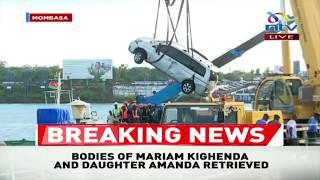 Likoni Ferry Accident: Bodies of Mariam Kighenda and daughter Amanda retrieved