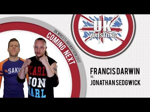 Francis Darwin vs Jonathan Sedgwick UK Wrestling Mayhem