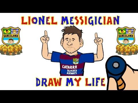 Lionel Messi - DRAW MY LIFE PARODY