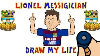 Lionel Messi - DRAW MY LIFE PARODY