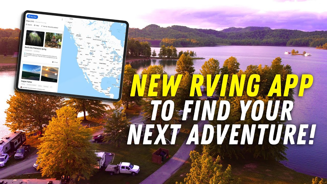 New Interactive Travel Map for RVers   RV Podcast 355