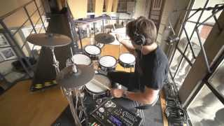 Roger Taylor (Duran Duran) on the Roland TD-30KV Electronic Drums