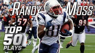 Randy Moss Top 50 Most Insane Plays of All-Time | NFL Highlights