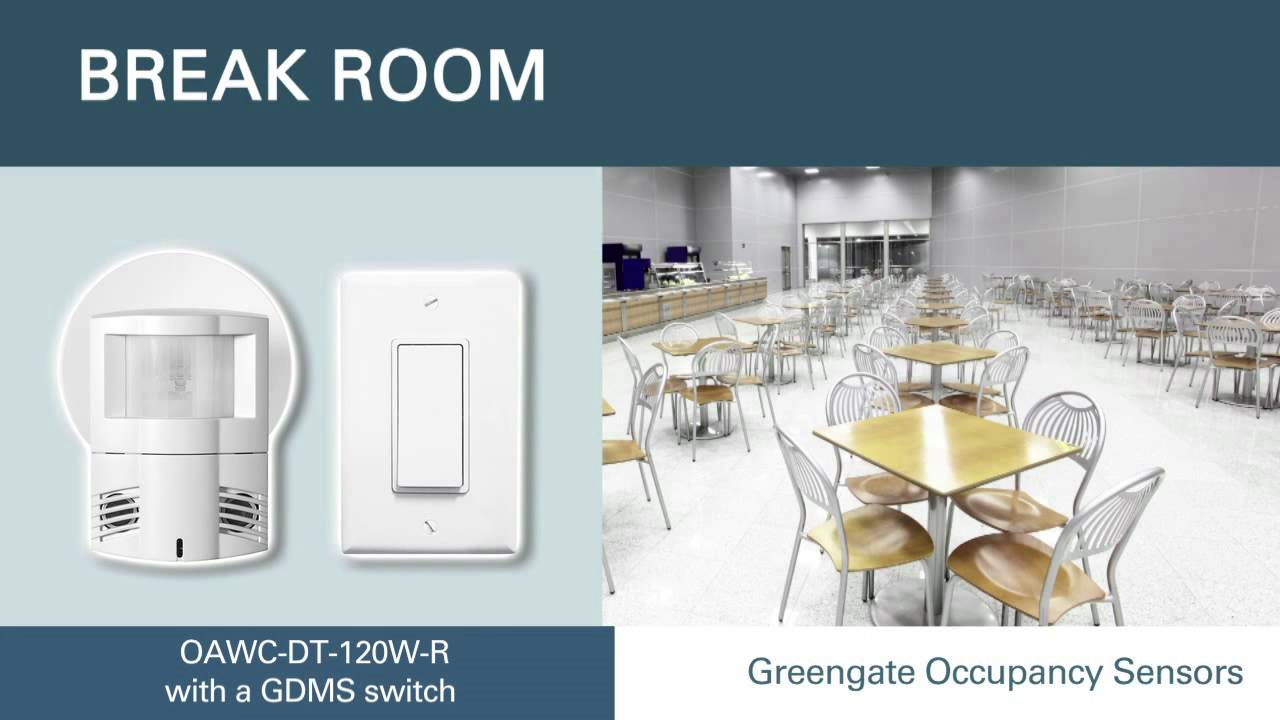 Greengate Lighting Controls Wiring Diagram Panel Occupancy Sensors For Control Eaton Sensor Selection Youtube On