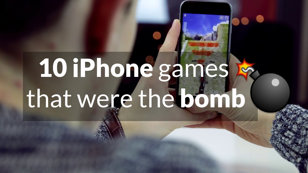 top games for iphone top 10 iphone that were the bomb 2093