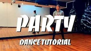 Chris Brown - PARTY DANCE TUTORIAL ft. Gucci Mane, Usher | choreography by Andrew Heart