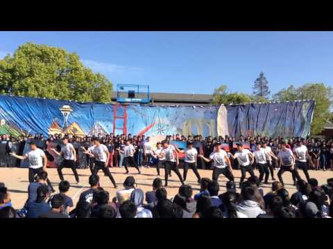 Lynbrook high school class of 2017 Junior homecoming skit 2015-16