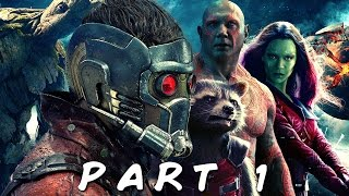 MARVEL'S GUARDIANS OF THE GALAXY Episode 1 Walkthrough Gameplay Part 1 - Star-Lord (Telltale)