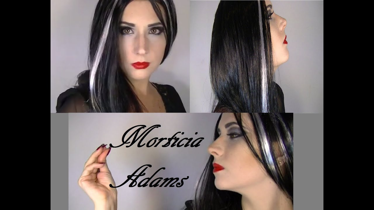 maquillaje morticia