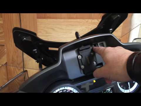 BMW R1200RT Locking Sat Nav Mod- final video.