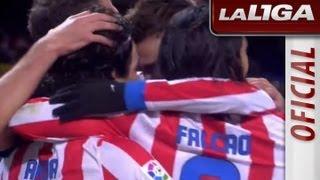 La Liga  Atltico de Madrid - Getafe CF 2-0  11-11-2012  J11  Resumen