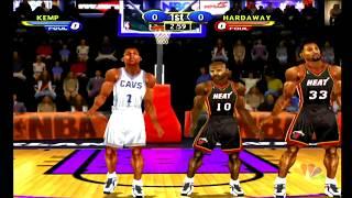 NBA Showtime: NBA on NBC (Dreamcast) Cavs vs Heat