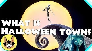 what is halloween town how does it work nightmare before christmas theory - Nightmare Before Christmas Theory
