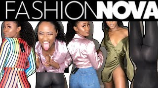 HUGE FASHION NOVA TRY-ON HAUL #fashionnova #novababe