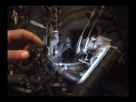 1995-1999 Nissan Maxima (1/2) Knock sensor replacement - YouTube