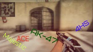 CS:GO - Majestic ACE with ak-47
