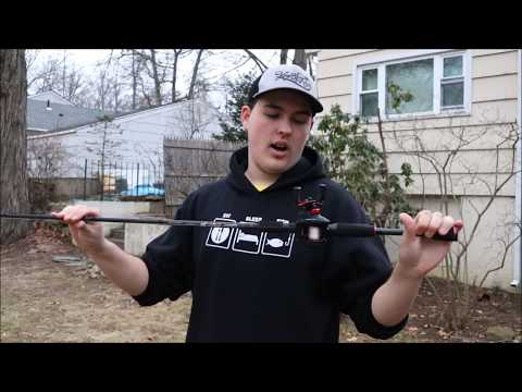 Abu Garcia Black Max Reel and Cabelas Rod Combo Review--Only 50 Bucks!