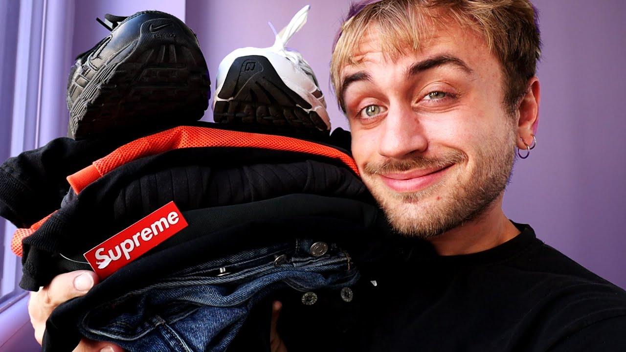 Mes derniers achats Streetwear et Sneakers (Supreme, Nike, Cos, New Balance...)