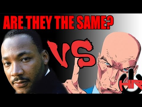 Martin Luther King Jr. vs. Professor X: Battle of Philosophy