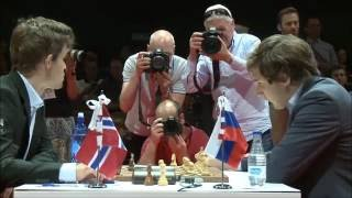 Magnus Carlsen vs Sergey Karjakin - World Chess Championship rivality