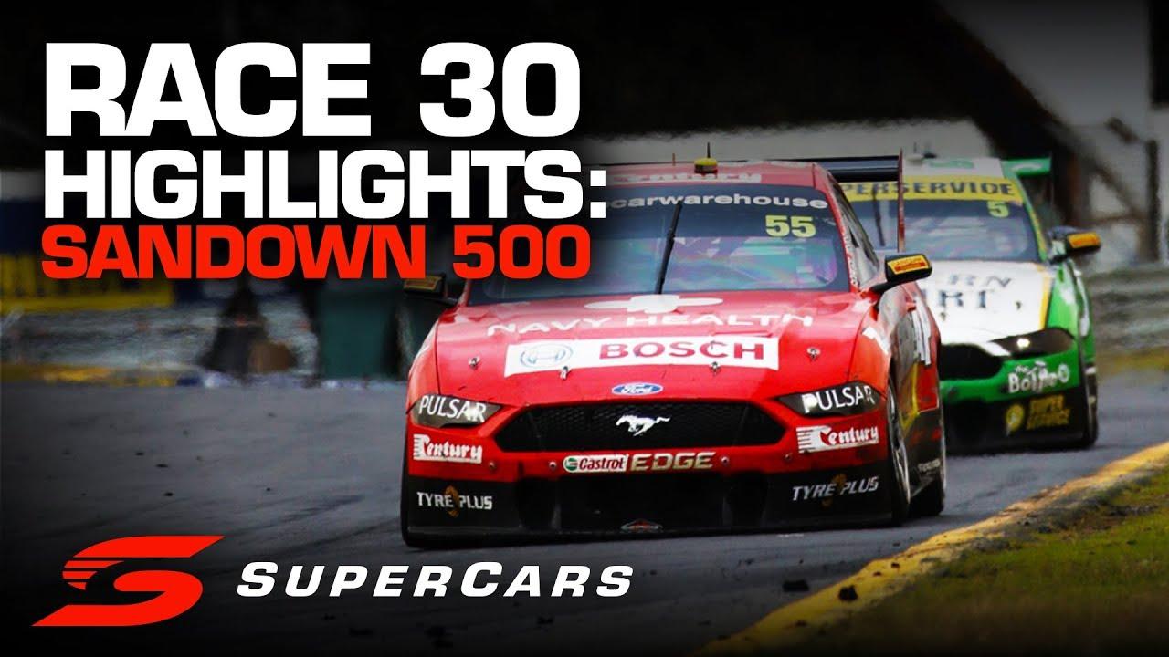 Highlights Race 30 Sandown 500 Supercars Championship 2019 Youtube