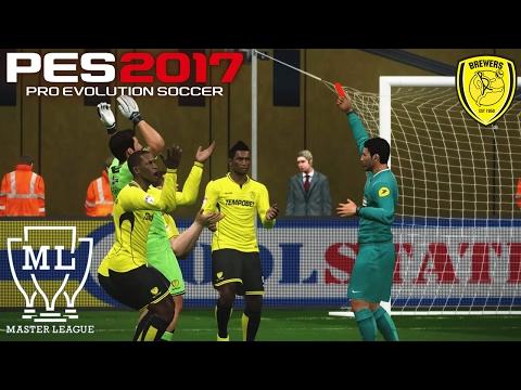 PES 2017 - Master League #8: A QUEDA DO BURTON ALBION !!! [PC]