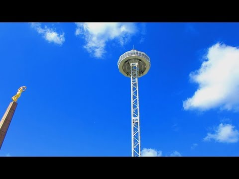 WORLD'S TALLEST MOBILE LOOKOUT TOWER IS IN LUXEMBOURG : Vlog : 31