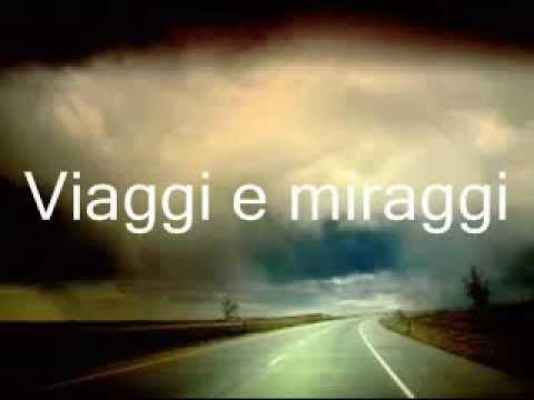 VIAGGI E MIRAGGI - Francesco De Gregori , con testo in scorrimento