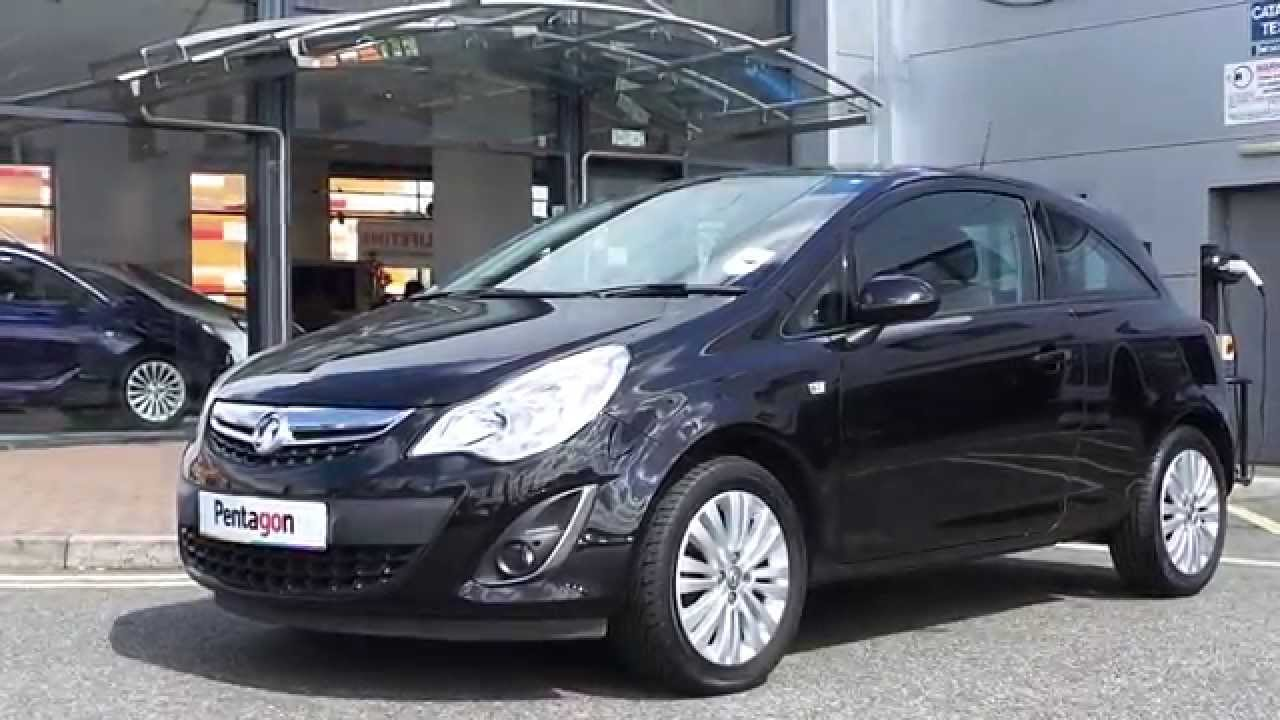2011 11regplate vauxhall corsa 1 2 16v excite 3dr inc air con and bluetooth in carbon flash. Black Bedroom Furniture Sets. Home Design Ideas
