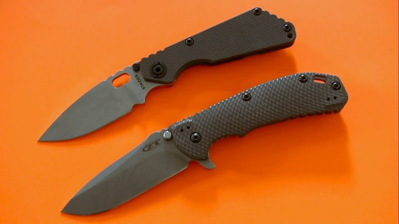 Image result for New Arrivals: Strider SNG and Zero Tolerance 0561