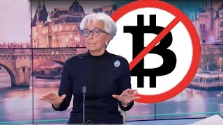 Christine Lagarde : cryptos, stablecoins & monnaies digitales