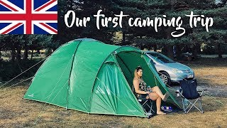 Our First Camping Tŗip | New Forest Hampshire