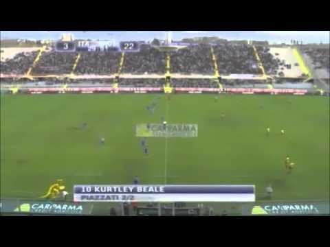 Wallabies vs Italy 2012 Full Highlights