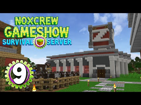 Noxcrew Gameshow Survival Server Episode 9- Hiring a Builder