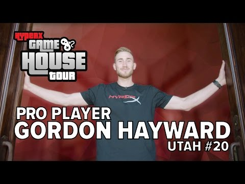 Gordon Hayward – HyperX House Tour