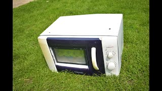 OLD AND DAMAGED MICROWAVE OVEN ??? What a Clever Project you can Make from an Old Мicrowave Оven ?