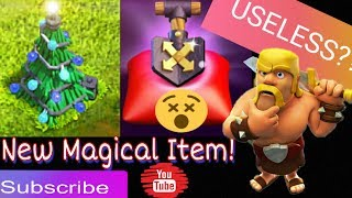 New magical item in Clash of Clans. Useful Or Useless? |New Winter Update 2018 In Hindi|