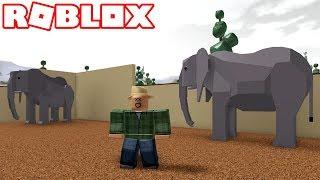 Roblox - BUILDING MY AMAZING ZOO!! -Zoo Tycoon 🎮