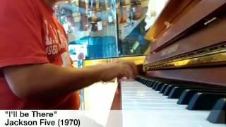 Beautiful Piano solo I 39 ll be There Jackson Five 1970 Davi Bachroedin
