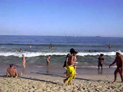 Hot Day in Copacabana Beach Brazil....