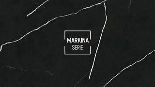 Sophisticated marble-effect porcelain tile - MARKINA by Exagres