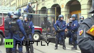 Switzerland: Dozens of anti-fascists arrested in Bern
