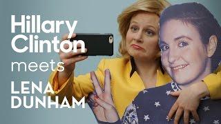 Hillary Clinton's Lena Dunham Strategy