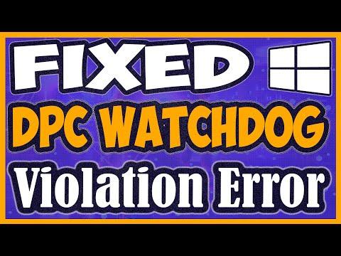 watchdog violation windows 10 2019