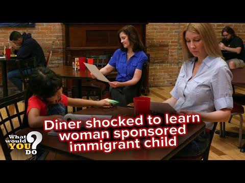 Diner shocked to learn woman sponsored immigrant child | WWYD