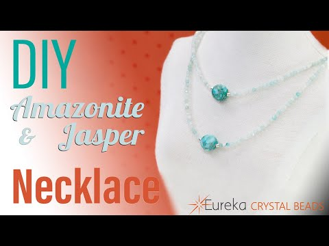 how-to-make-an-easy-layered-necklace-with-sterling-chain-and-semi-precious-stones