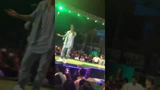 Hardy Sandhu horn blow in Piet collage panipat live