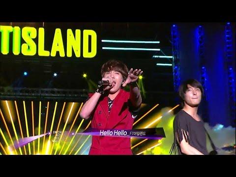 【TVPP】FTISLAND - Hello Hello, 에프티아일랜드 - 헬로 헬로 @ Incheon Korean Music Wave Live