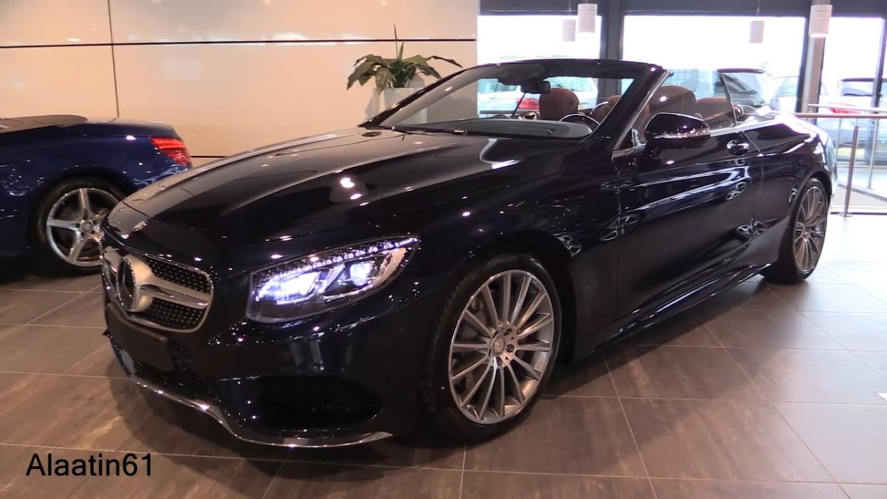 mercedes benz s class cabriolet 2017 exhaust sound in depth review interior exterior youtube. Black Bedroom Furniture Sets. Home Design Ideas